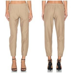 Vince Womens Khaki Light Weight pull on tan pants